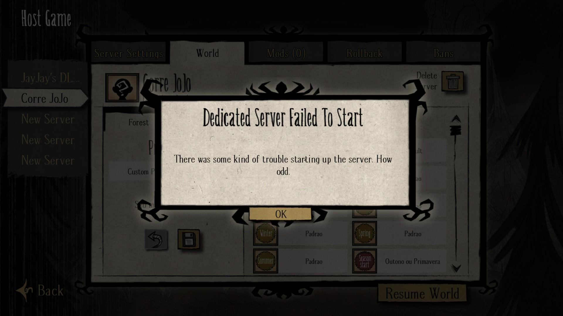 Dst dedicated server caves n