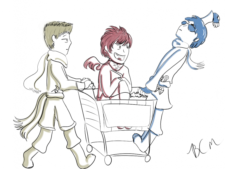 DtS Ninjago shopping Cart1.png