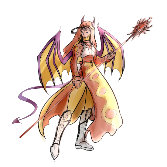 Abyss character - Dragon Mage (Ria).png